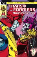 Transformers: Regeneration One #96 - Cover B